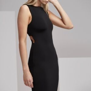 Finders Keepers Midi body-con black dress